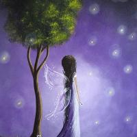 Painting: Fairy Art by Shawna Erback