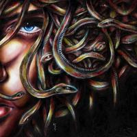 Painting: Medusa