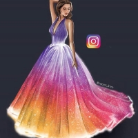 Instagram Dress by Naomi_limm
